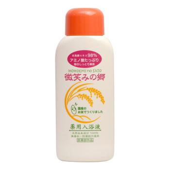 米発酵エキス98%薬用入浴液 微笑みの郷