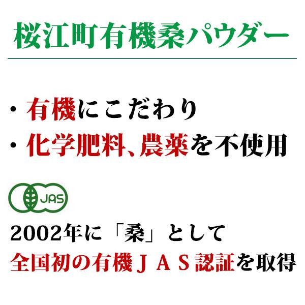 桜江町有機桑パウダー 100g